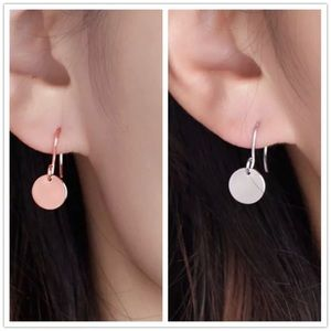 Simple Elegant Circle Earrings